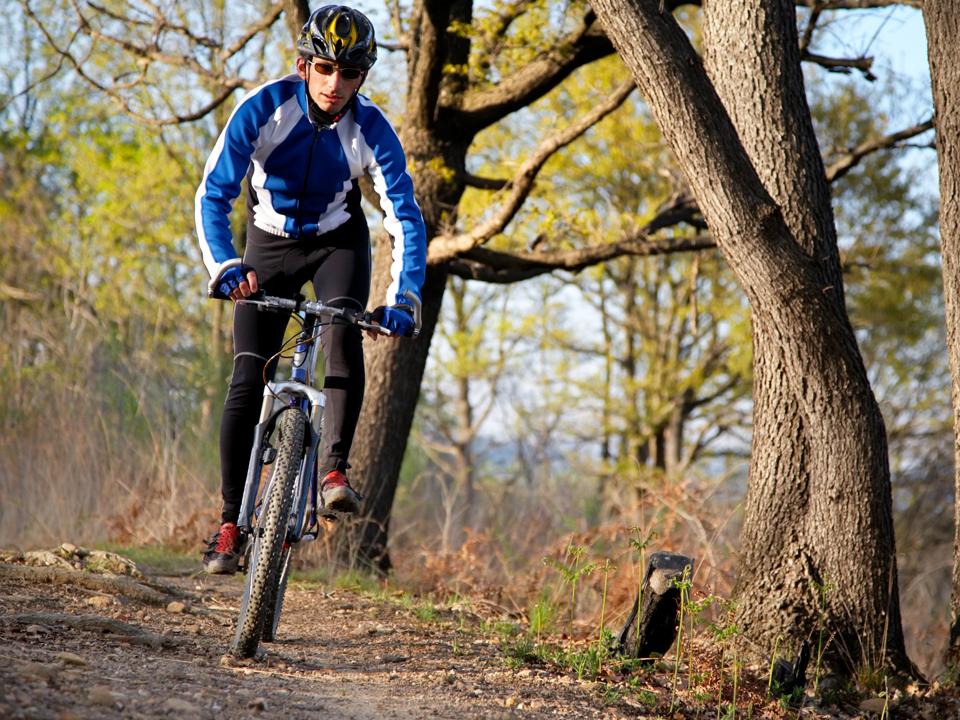 fietsroute-Mountainbike